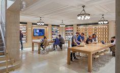 Apple Store. 940 Madison Ave. Bohlin Cywinski Jackson. Photo Peter Aaron / Esto.