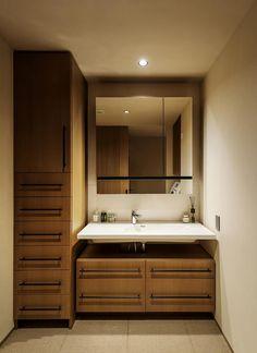 Bathroom Vanity, Washroom, Interior, House, Bathroom Mirror, House Interior, Room, Victorian Homes, Bathroom