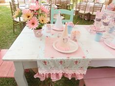 tea party, sarah kay inspired !!! Birthday Party Ideas | Photo 1 of 102 | Catch My Party
