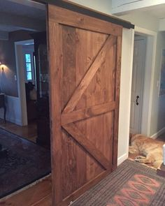 We Love These Tall And Skinny British Brace Barn Doors That Will Be Used For A