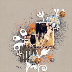 Digital Scrapbooking  FOREVERJOY DESIGNS | HOPPY SPRING | #JOYCREATED    ForeverJoy Designs  Hoppy Spring  Noted    Fiddle Dee Dee Designs  Blooming Template