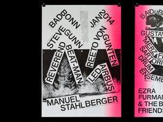 Poster design // source: designeverywhere // Bad Bonn 2014