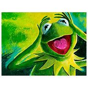 Muppets Kermit the Frog Canvas Giclee Print