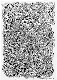 Viktoriya Crichton_Ukraine_Zentangle art, graphic, zentangle inspired, zendoodle, zenart, artdrawing, artnet, hand-made, pattern, tangle, abstract, design, graphic, monochrome, blackandwhite, Drawing Illustration, liner