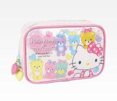 Hello Kitty & Tiny Chum Pouch: Heart Bubbles