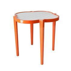 Greenwish Side Table <3 #oomph #quatrefoil #shopcandelabra #side #table