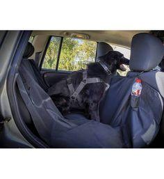 Funda protectora asientos #mascota #animales Precio :16,71€ Permite una perfecta separación entre la parte delantera y trasera del #vehículo,a en caso de frenado a la vez que se podrá ejercer una conducción adecuada. Además, tiene aberturas que permitirán utilizar el cinturón de seguridad para sujetarla. Resistente al agua. Universal para cualquier tamaño que pueda tener tu mascota. Fácil de instalar mediante 4 correas de nylon. Ideal para #perros que se marean o que dejan ir mucho pelaje.