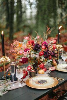 tischdeko hochzeit heiraten im herbst hochzeit im oktober bunt
