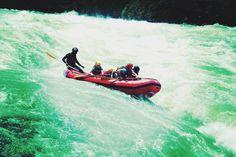 White-Water Rafting on the River Nile — illumelation