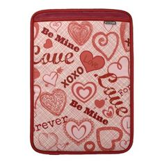 Check out all of the amazing designs that Unique Novelty Gifts has created for your Zazzle products. Make one-of-a-kind gifts with these designs! Cute Valentines Day Gifts, Novelty Gifts, Macbook Air, Hearts, Unique, Sleeve, How To Make, Manga, Finger