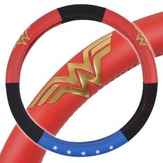 Car Accessories For Girls, Interior Accessories, Auto Accessories, Car Steering Wheel Cover, Steering Wheels, Wonder Woman Logo, Classic Gold, Classic Cars, Car Covers