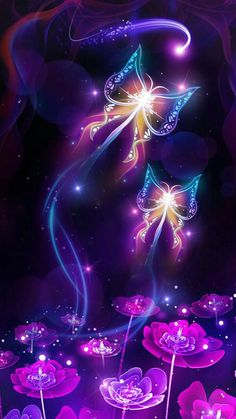 It is or - Peggy Dominguez - Best Ideas - Shiny Neon Butterfly Live Wallpaper! It is or – Peggy Doming - Wallpaper Samsung, Live Wallpaper Iphone, Purple Wallpaper, Scenery Wallpaper, Cute Wallpaper Backgrounds, Cellphone Wallpaper, Pretty Wallpapers, Wallpaper Ideas, Amazing Backgrounds