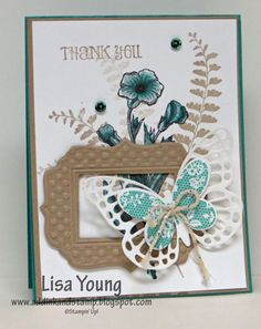 Add Ink and Stamp: Butterfly Basics Framed