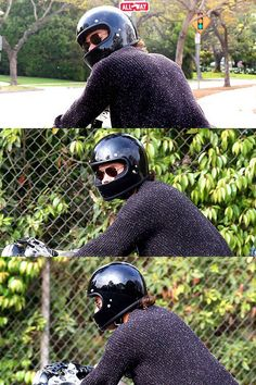Ladies and gentlemen Harry Styles wears a helmet when he rides his motorcycle. Unlike the idiots who don't. Thank you Harry.