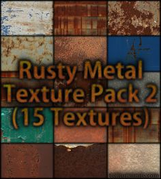 Free Texture Pack for Commercial Use - Rusty Metal 2
