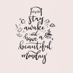 Hello Monday #monday #mondayquote #quotes #mondayvibes #handlettering #worklife #workbalance #stayawake #haveagoodday #melbournedesign #melbournedesigner Monday Monday, Hello Monday, Monday Quotes, Graphic Design Print, How To Stay Awake, Hand Lettering, Instagram, Handwriting, Calligraphy