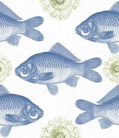 MTG Wallpaper Fish Blue WP20009