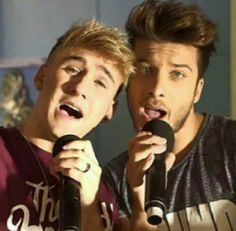 Dani Fernández & Blas Cantó :)
