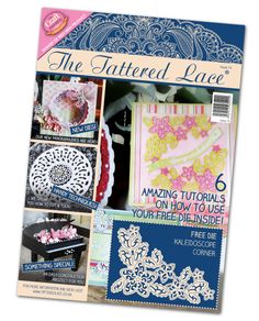 The Tattered Lace Magazine - Volume 14 by PNWCrafts on Etsy