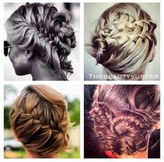 Fall trend -Braided Updos