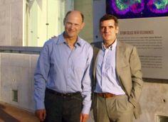 El Dr. Juan Carlos Izpisúa, profesor de Expresión Genética del Salk Institute, junto al Dr. Josep Maria Campistol, director general y nefrólogo del Hospital Clínico e investigador del IDIBAPS. / IDIBAPS