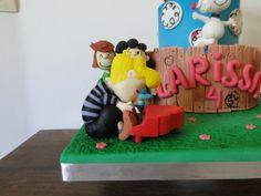Modelagem em Pasta Americana do Schroeder - Turma do Snoopy e Charlies Brown!