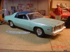 1977 Dodge Monaco 2 Door 1/25th MPC Built #MPC