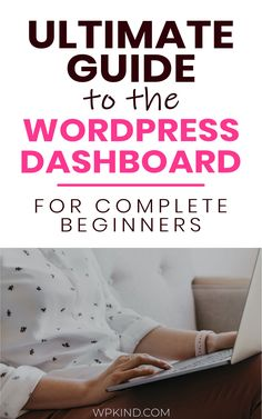 Starting a new blog? Here is my complete guide to mastering the WordPress dashboard for WordPress beginners. This is the perfect tutorial for getting your blog started super fast! #startablog #bloggingtips #bloggingforbeginners #wordpressforbeginners #wordpresstutorial #wordpresstips Wordpress For Beginners, Learn Wordpress, Wordpress Admin, Wordpress Plugins, Blogging For Beginners, Ecommerce, Wordpress Gallery, Wordpress Free, Earn Money From Home