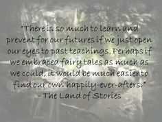 The Land of Stories by Chris Colfer, page 14 ♥