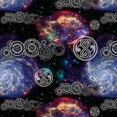 Gallifrey's Line fabric by marchhare on Spoonflower - custom fabric