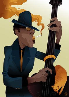Vector illustrations by Baran Sarigul, via Behance