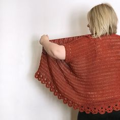 Ravelry: Luanne Cardi pattern by Emily Marie Davies Unique Crochet, Crochet Round, Half Double Crochet, Free Crochet, Crochet Hot Pads, Crochet Teddy, Crochet Cardigan, Crochet Sweaters, Crochet Shawl