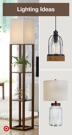 From lamps to chandeliers, find lighting fixture ideas for a well-lit kitchen, dining room or bedroom. Diy Light Fixtures, Kitchen Lighting Fixtures, Diy Luminaire, Living Room Decor, Bedroom Decor, Decoration Christmas, My New Room, Home Projects, Kitchen Dining