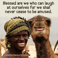 Blessed are those who can laugh at themselves for they shall never cease to be amused...  http://www.Like-Share-And-Comment.com