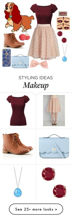 """""""Disney fashion"""" by mariar559 on Polyvore featuring H&M, Eos, Ippolita, Casetify and The Cambridge Satchel Company"""