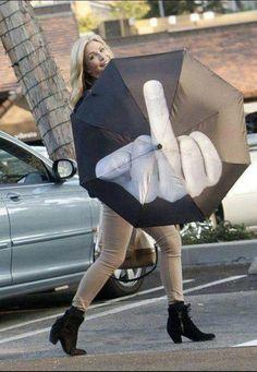 Fuck off-umbrella! lol