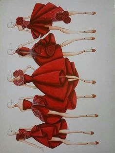 Fashion Illustration Ideas - Fashion Show Dress Design Drawing, Dress Design Sketches, Fashion Design Sketchbook, Fashion Design Drawings, Fashion Figure Drawing, Fashion Drawing Dresses, Fashion Illustration Dresses, Drawing Fashion, Fashion Illustrations
