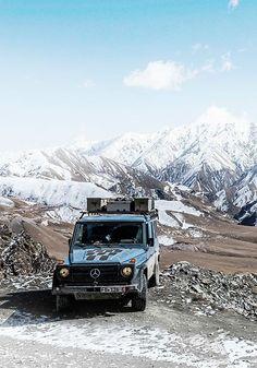 Travel to the ends of the earth with the Mercedes-Benz G-Class. Click and discover 14 unique destinations to explore with your luxury, off-road vehicle.