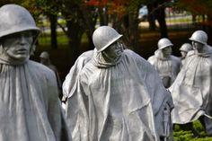 Korean War Memorial statues, Washington, DC