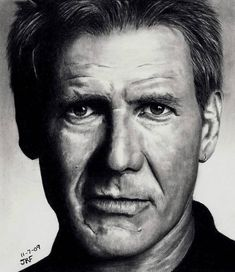 Harrison Ford by *Rick-Kills-Pencils on deviantART
