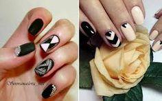 Αποτέλεσμα εικόνας για νυχια χειμωνας 2018 με στρας Nails, Beauty, Finger Nails, Ongles, Nail, Beauty Illustration, Manicures