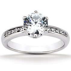 Moijey Classic Style Round Engagement Ring | Moijey Fine Jewelry and Diamonds