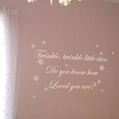Twinkle Twinkle Wall Sticker