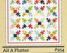 All a Flutter quilt pattern