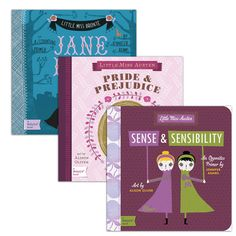 With the perennial popularity of classic writers like Jane Austen and William Shakespeare, BabyLit is a fashionable way to introduce your toddler to great works of literature. With clever, simple text by Jennifer Adams, paired with stylish design and illustrations by Sugar's Alison Oliver, this three-pack of primers on counting and matching is a must for every savvy parent's nursery library.