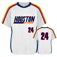 819d81a3 DESIGN YOUR OWN: Custom Sublimated, Houston Astros Inspired Throwback style baseball  jerseys for your