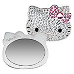 Hello Kitty Compact Mirror. Bling!