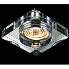 Spot Cristal Quadrado Embutir Espelhado L1148 SQ20 – Chandelie