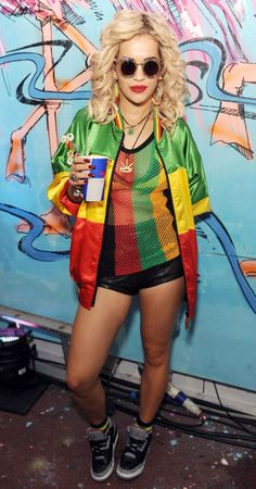 Rita Ora @ major lazer