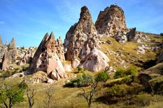 Uchisar Castle and Strange Terrains Photo by feray umut — National Geographic Your Shot